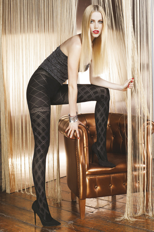 Trasparenze Aragonite Fashion Tights - Spike Angel - 1
