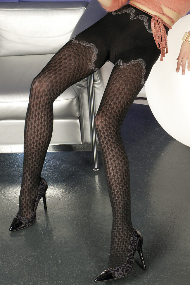 Trasparenze Biniou Fashion Tights - Spike Angel - 2