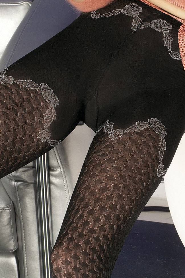 Trasparenze Biniou Fashion Tights - Spike Angel - 3