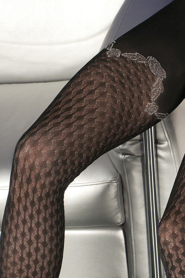 Trasparenze Biniou Fashion Tights - Spike Angel - 4