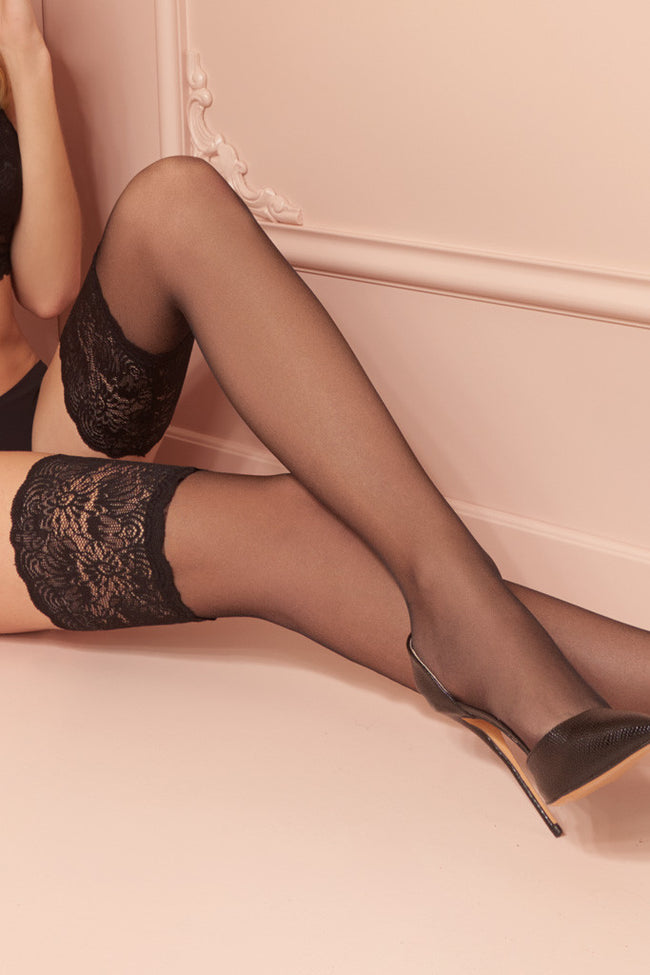 Carlotta 30 Den Silky Thigh Highs