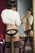 Trasparenze Carlotta Silky Thigh Highs - Spike Angel - 8