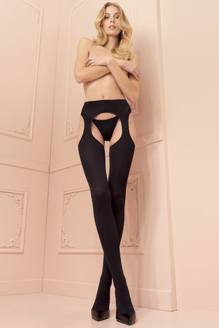 Cortina 100 Den Strip Panty Tights