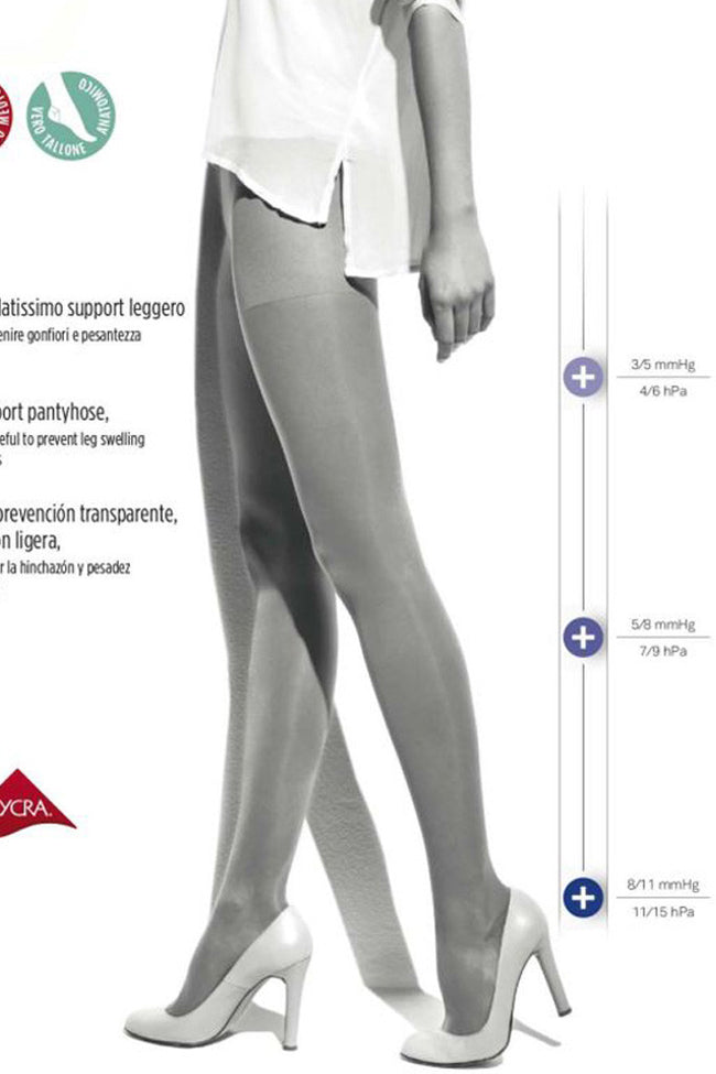 Segreta Collant 40 Support Pantyhose - Spike Angel - 3