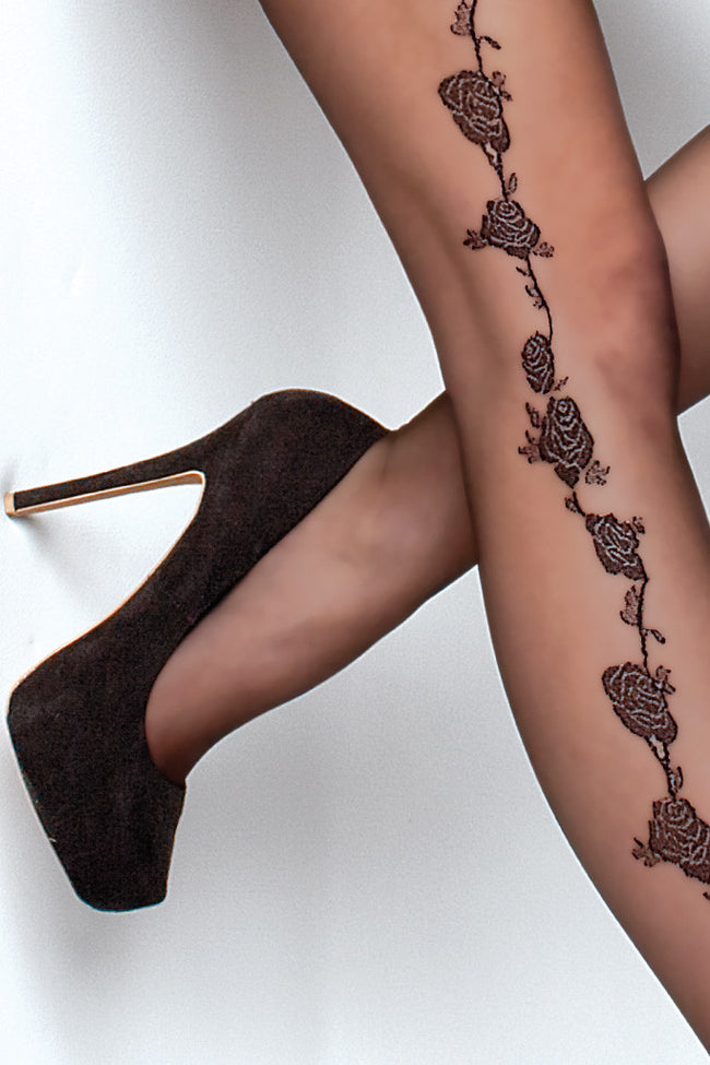 Fiore Marea Lace Top Thigh Highs - Spike Angel - 3