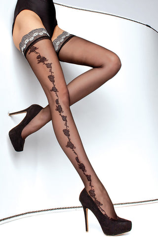 Marea Lace Top Thigh Highs
