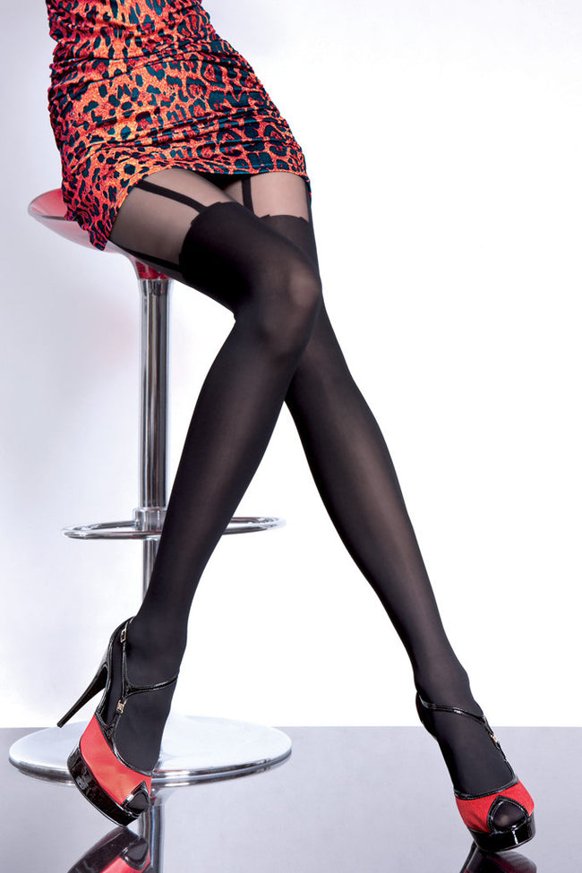 Fiore Milla Suspender Tights - Spike Angel - 1