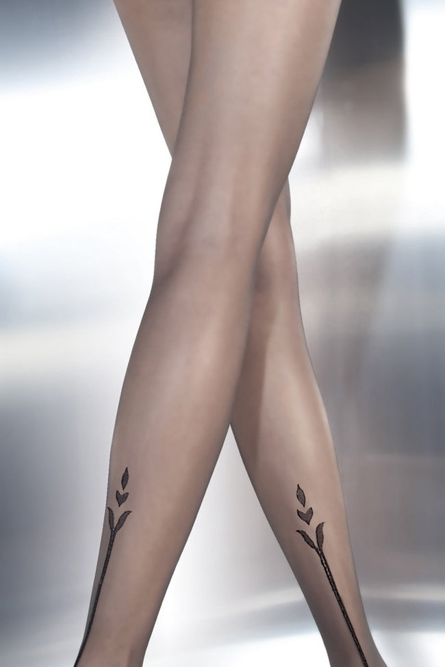 Fiore Angelina Tattoo Pantyhose - Spike Angel - 3