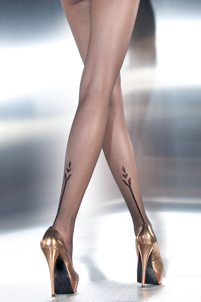 Angelina Tattoo Pantyhose