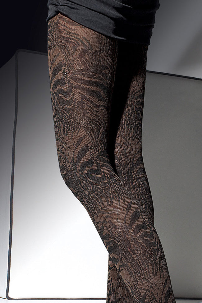 Fiore Cristine Patterned Tights - Spike Angel - 2