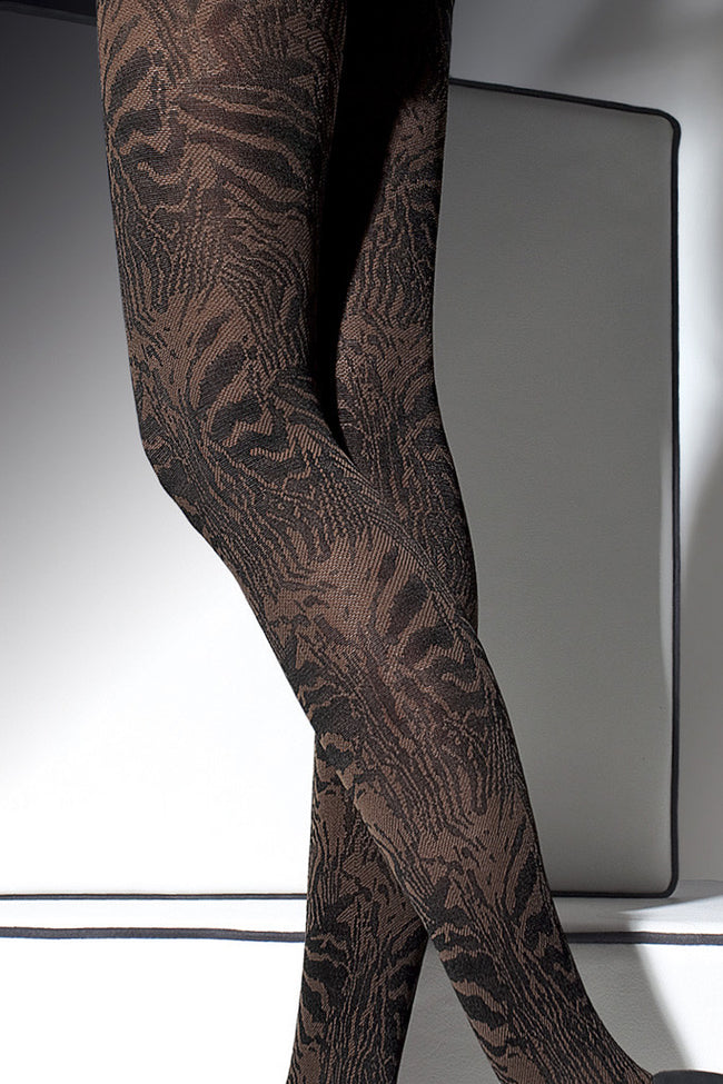 Fiore Cristine Patterned Tights - Spike Angel - 3