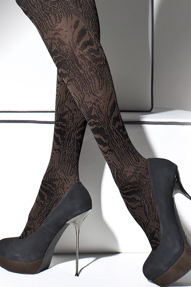 Fiore Cristine Patterned Tights - Spike Angel - 4
