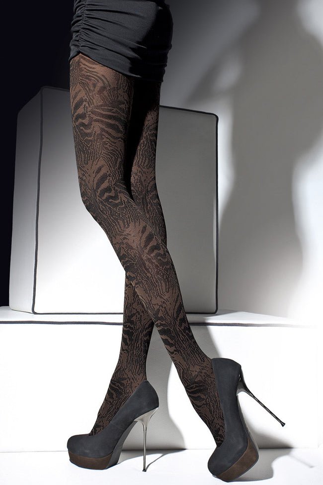 Fiore Cristine Patterned Tights - Spike Angel - 1