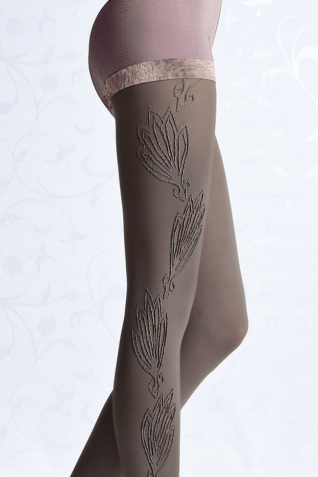Fiore Cyntia Patterned Tights - Spike Angel - 3