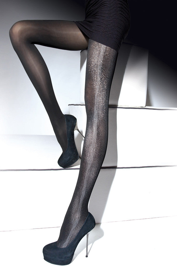 Carina  60 Den Patterned Tights