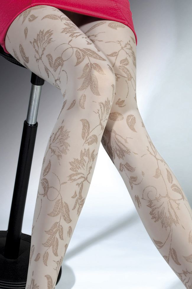 Fiore Aurelia Patterned Tights - Spike Angel - 2