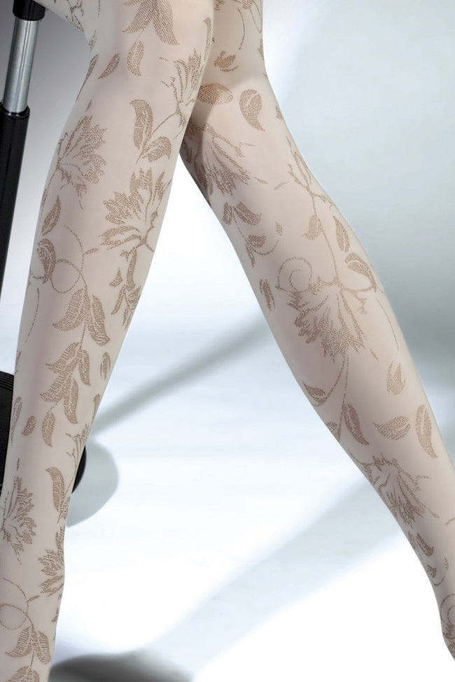 Fiore Aurelia Patterned Tights - Spike Angel - 3