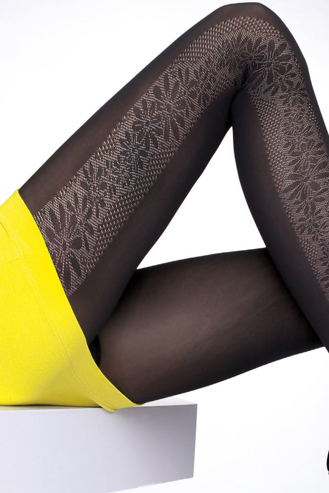 Fiore Benita Patterned Tights - Spike Angel - 2