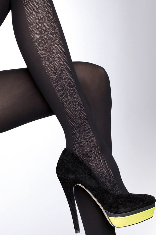 Fiore Benita Patterned Tights - Spike Angel - 4
