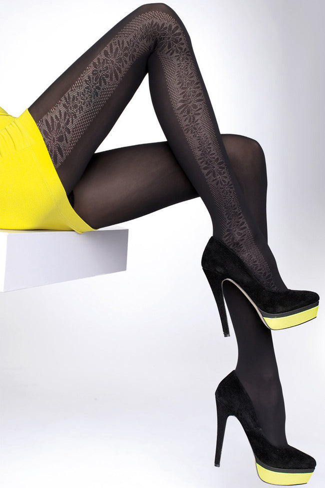 Fiore Benita Patterned Tights - Spike Angel - 1