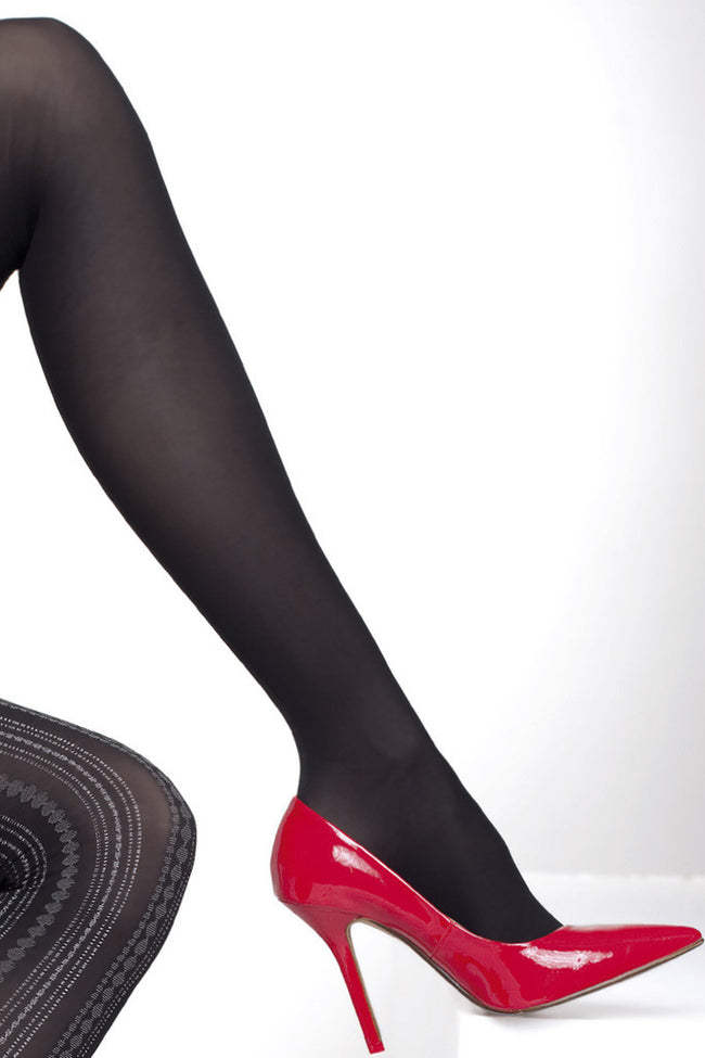 Fiore Savinia Patterned Tights - Spike Angel - 5