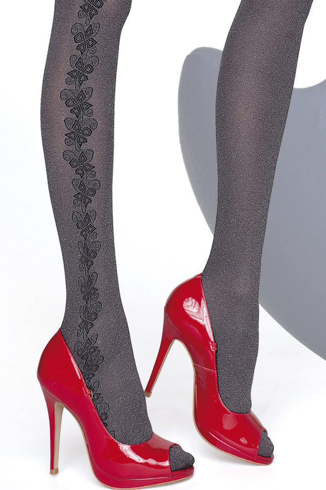 Fiore Shannon Melange Tights - Spike Angel - 4