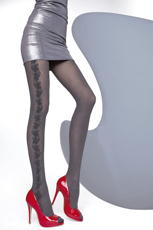 Fiore Shannon Melange Tights - Spike Angel - 1