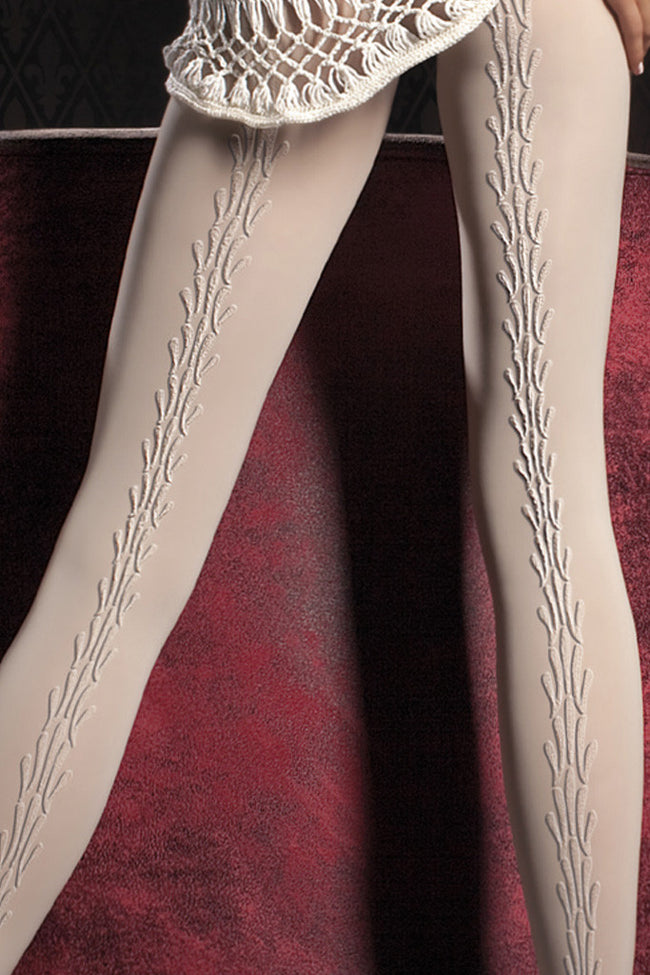 Fiore Sabena Patterned Tights - Spike Angel - 3
