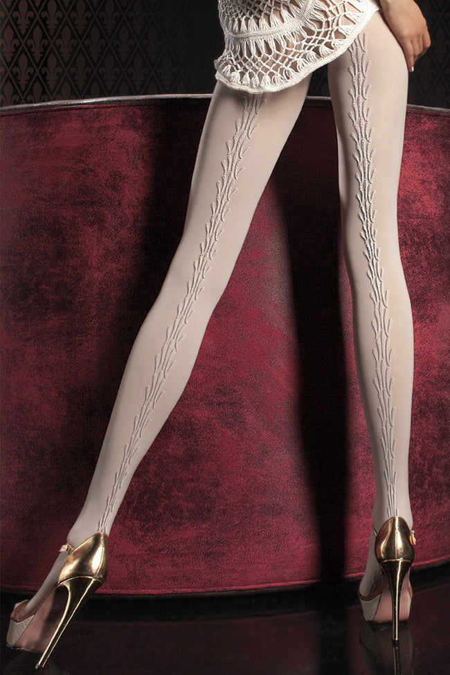 Fiore Sabena Patterned Tights - Spike Angel - 2