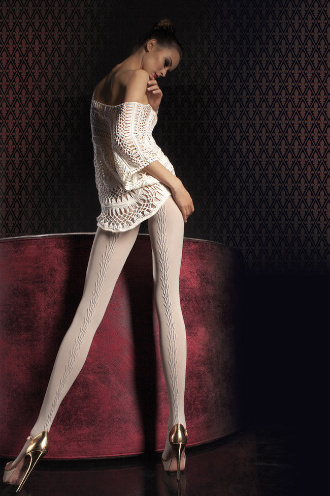 Fiore Sabena Patterned Tights - Spike Angel - 1