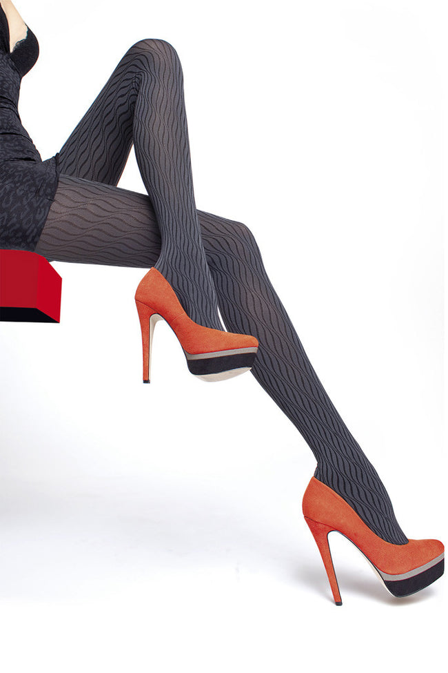 Fiore Daniela Patterned Tights - Spike Angel - 1