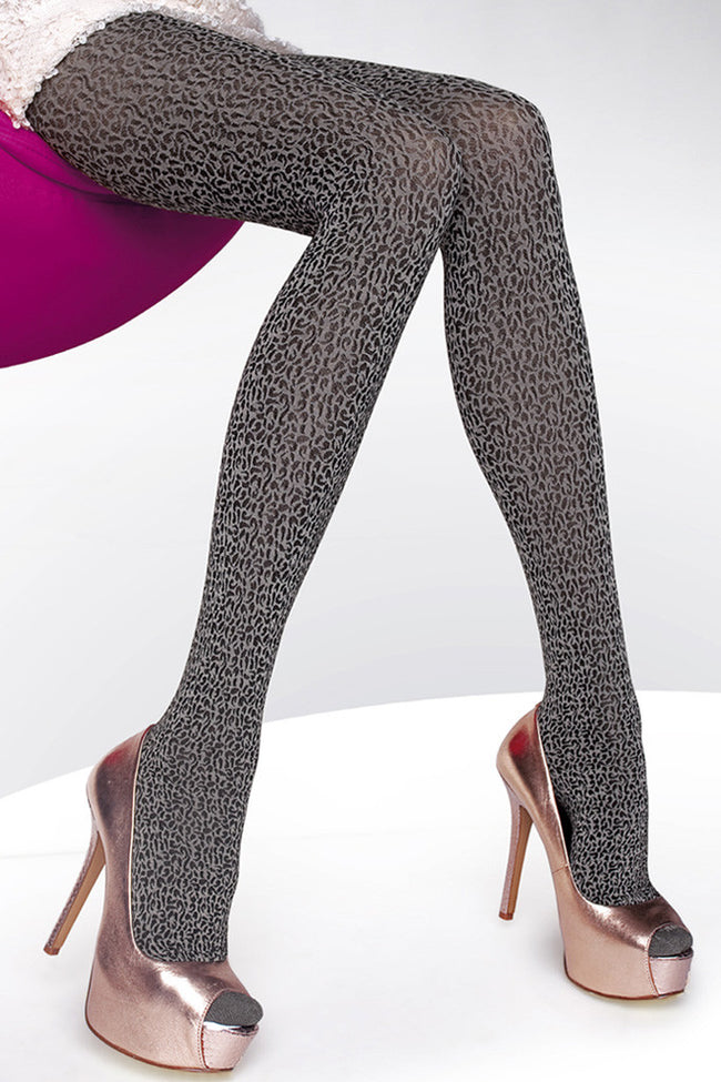 Fiore Amadea Patterned Tights - Spike Angel - 4