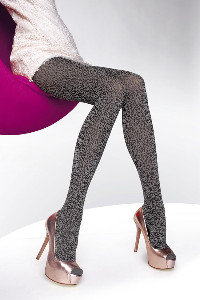 Fiore Amadea Patterned Tights - Spike Angel - 1