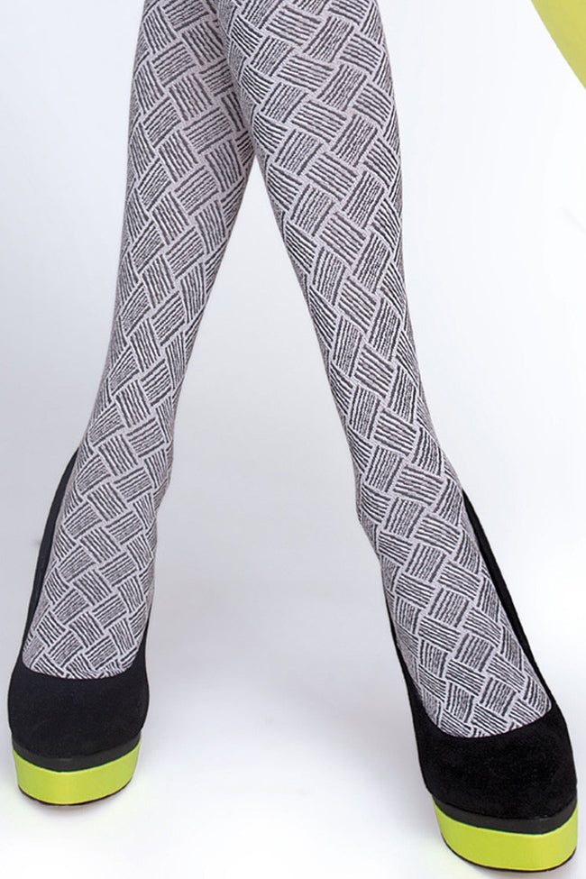 Fiore Lucinda Patterned Tights - Spike Angel - 4