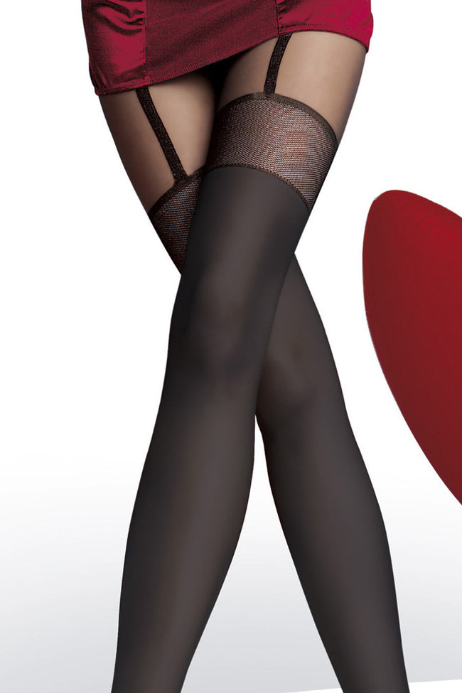 Fiore Alpia Suspender Tights - Spike Angel - 3