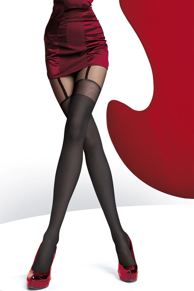 Fiore Alpia Suspender Tights - Spike Angel - 1