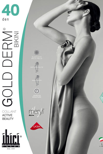 Gold Derm 40 Bikini Shaping Pantyhose