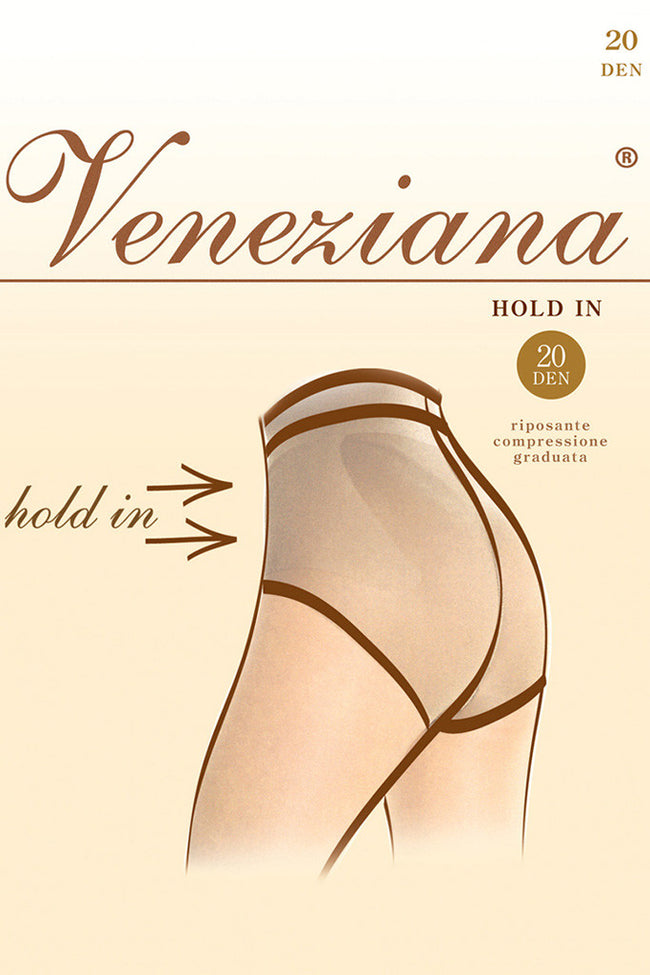 Hold In 20 Abdomen Shaping Pantyhose