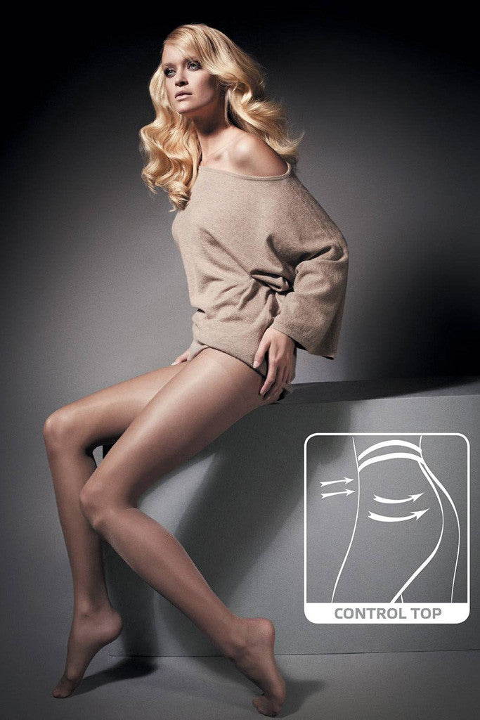 Invisible Control 10 Ultra Sheer Shaping Pantyhose