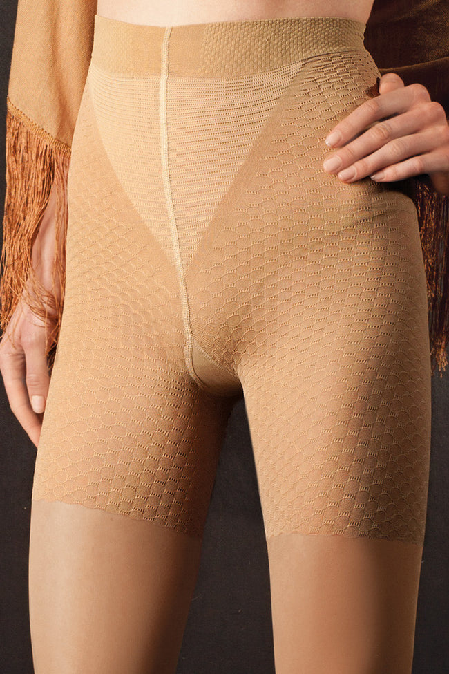 Trasparenze Anti-Cellulite Massage Tights - Spike Angel - 2
