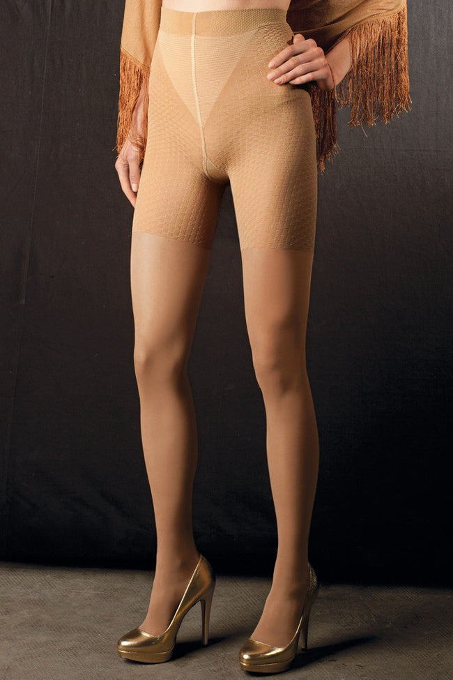 Trasparenze Anti-Cellulite Massage Tights - Spike Angel - 3