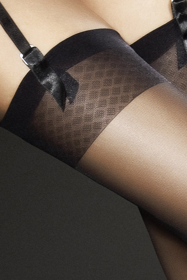 Fiore Jovitta Sheer Stockings - Spike Angel - 2