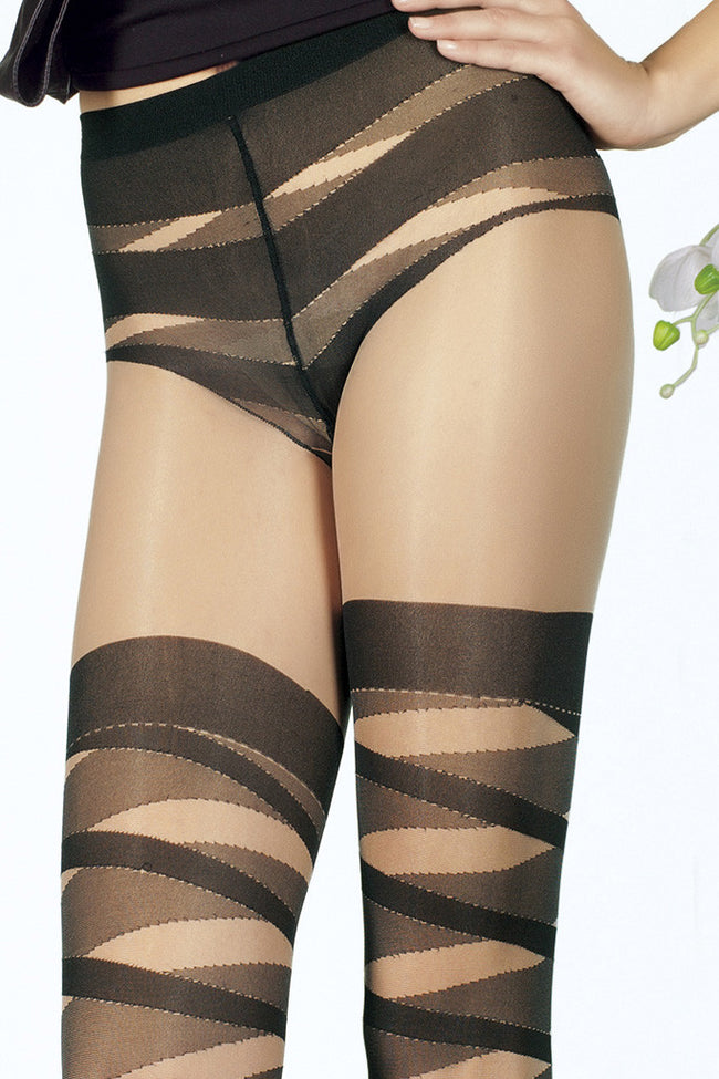 Trasparenze Oboe Fashion Pantyhose - Spike Angel - 3