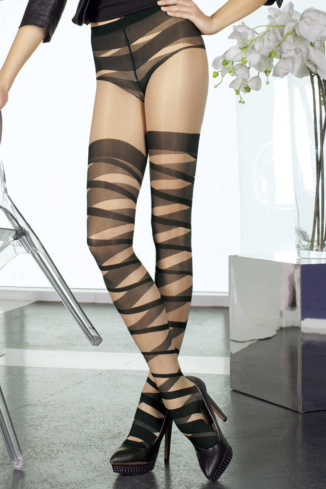 Trasparenze Oboe Fashion Pantyhose - Spike Angel - 2