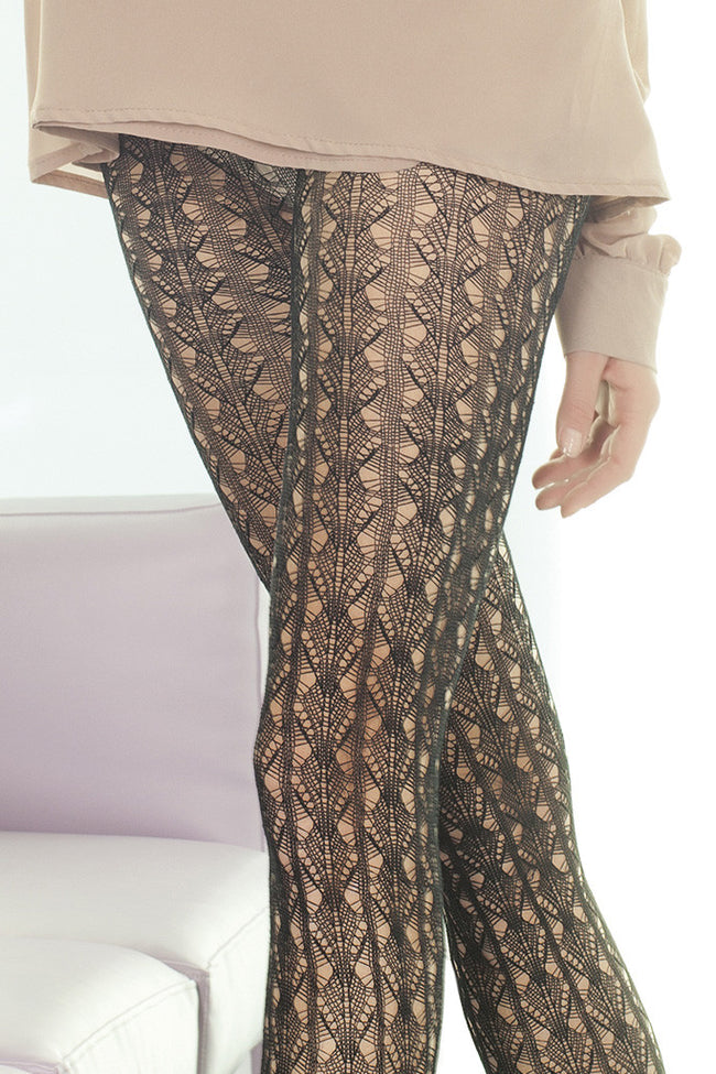 Trasparenze Ocarina Fashion Tights - Spike Angel - 4