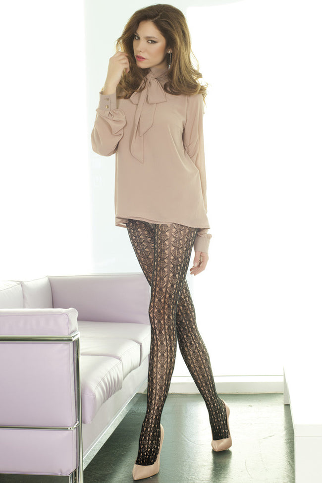 Trasparenze Ocarina Fashion Tights - Spike Angel - 1