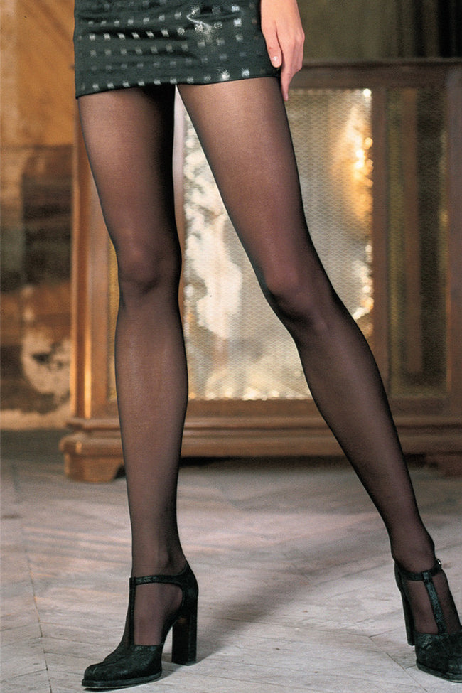 Trasparenze Paola Evolution Microfiber Pantyhose - Spike Angel - 1