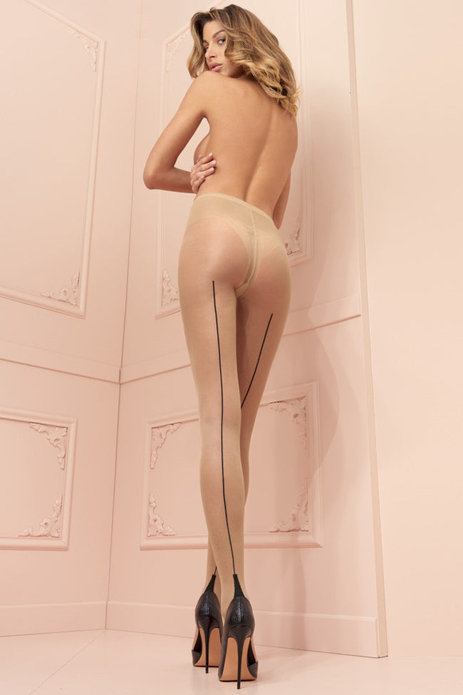 Pennac 20 Den Back Seamed Pantyhose