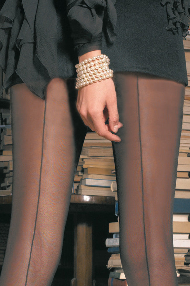 Trasparenze Pennac Back Seamed Pantyhose - Spike Angel - 3