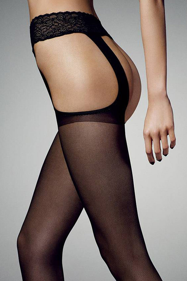Sexy Strip 20 Open Crotch Pantyhose